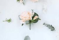 Emmelia Blush Peach Bridal Bouquet